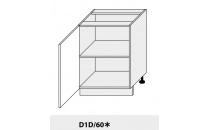 Dolní skříňka kuchyně Quantum D1D 60/grey