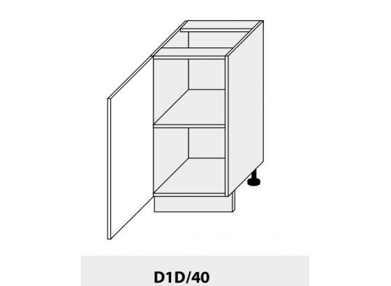 Dolní skříňka kuchyně Quantum D1D 40/grey