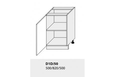 Dolní skříňka kuchyně TITANIUM D1D 50/grey
