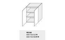 Horní skříňka kuchyně TITANIUM W3 60/bílá