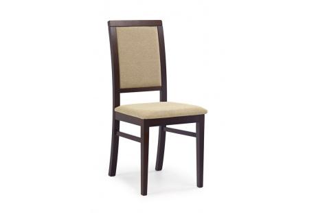 Jídelní židle SYLWEK 1 ořech tmavý-Torent Beige