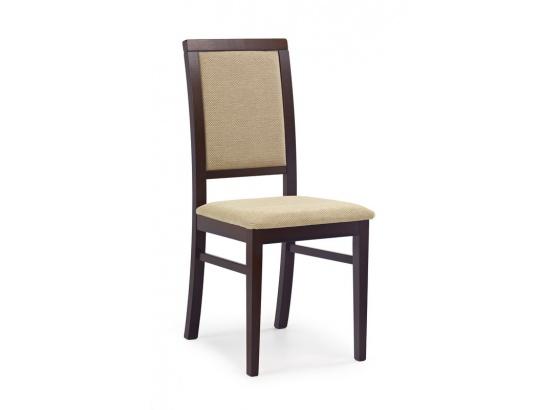 Jídelní židle SYLWEK 1 ořech tmavý/Torent Beige