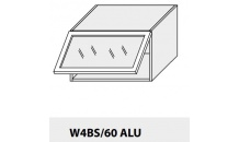 Horní skříňka kuchyně TITANIUM W4BS 60 ALU bílá