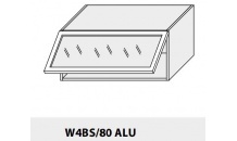 Horní skříňka kuchyně TITANIUM W4BS 80 ALU grey