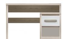 Psací stůl ROMA ROM10 jilm/bílá lesk/šedá mat