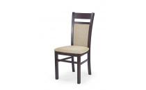 Jídelní židle GERARD 2 ořech tmavý-Torent beige