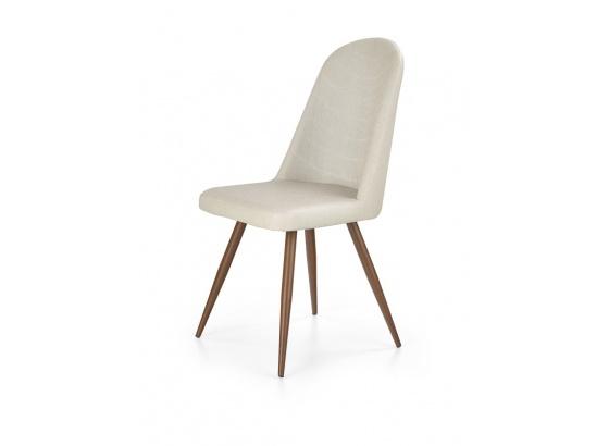 Jídelní židle K214 tmavý krém/třešeň antická III.