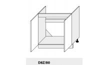 Dolní skříňka kuchyně Quantum D8Z 80 dřezová/grey