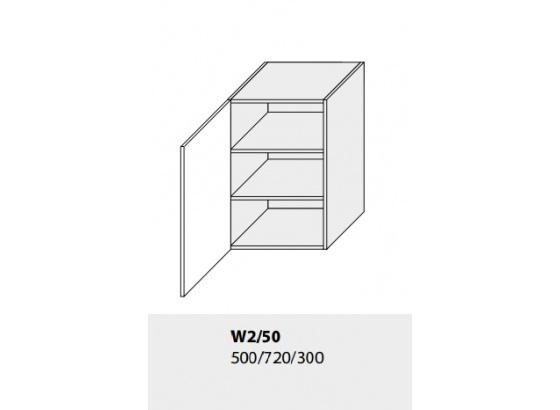 Horní skříňka kuchyně GOLD LUX W2 50