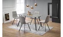 Jídelní stůl BALROG obdélník světle šedý