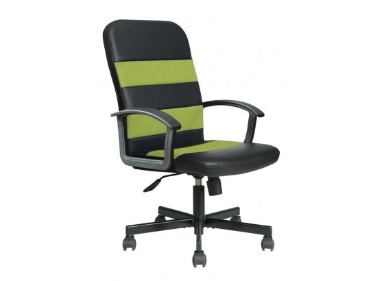 Kancelářské křeslo RIBIS černá/zelená