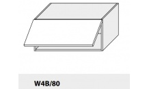 Horní skříňka kuchyně TITANIUM W4B 80 bílá