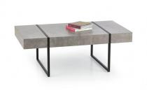 Konferenční stolek TIFFANY beton/černá
