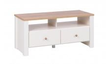 TV stolek BERG 15 krém/dub zlatý