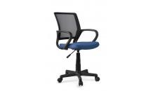 Dětská židle JOEL černá/modrá