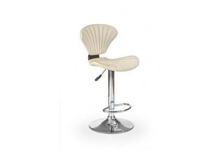 Barová židle H-65 třešeň antická-krémová