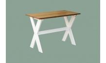 Stůl X dvoubarevný