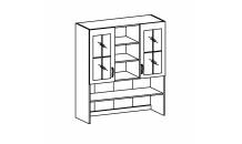 Horní skříňka kuchyně ROYAL K120 kredenc stojící