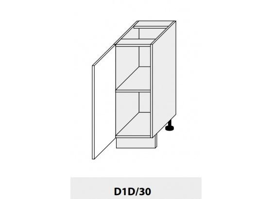 Dolní skříňka kuchyně Quantum D1D 30/grey