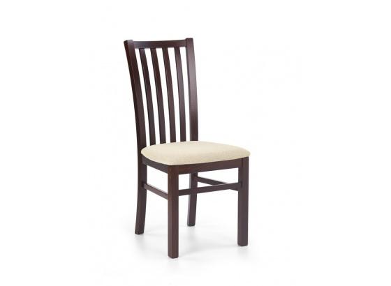 Jídelní židle GERARD 7 ořech tmavý/Torent beige