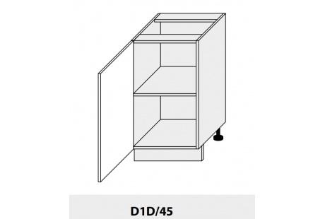 Dolní skříňka kuchyně Quantum D1D 45/grey