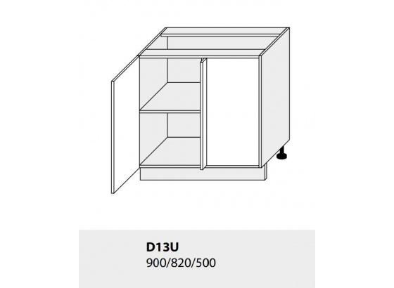 Dolní skříňka kuchyně Quantum D13 U jersey