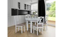 Jídelní set POLI 1 S + židle NILO 11