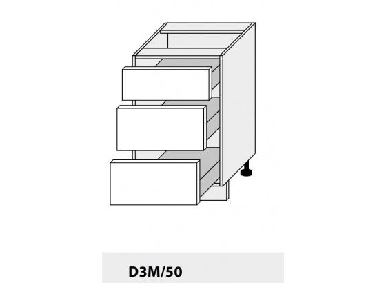 Dolní skříňka PLATINIUM D3M/50 jersey