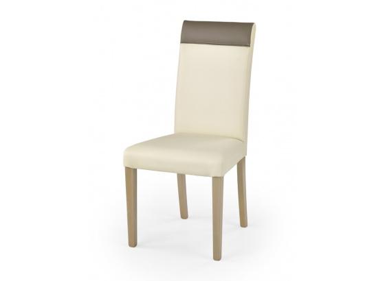 Jídelní židle NORBERT dub sonoma/krém/béžová