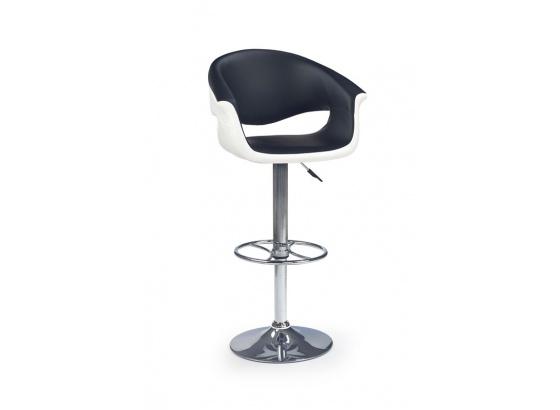 Barová židle H 46 bílo/černá