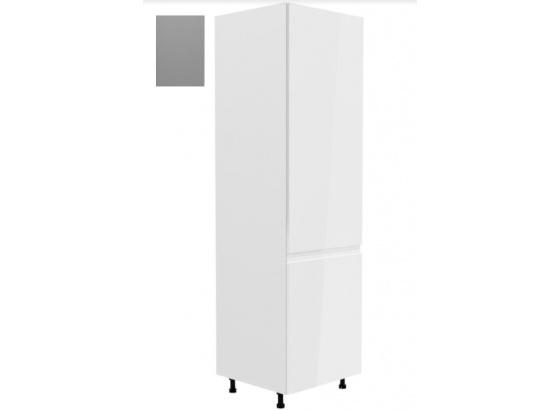 Dolní skříňka ASPEN D60ZL vestavba na lednici šedá