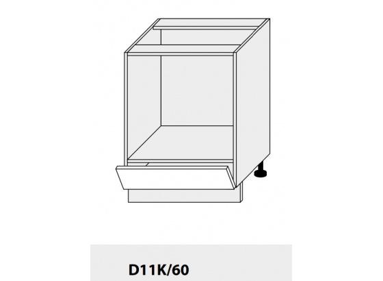 Dolní skříňka kuchyně Quantum D11K60 vestavba/grey