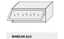 Horní skříňka kuchyně Quantum W4BS 90 ALU/jersey