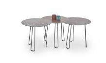 Konferenční stolek TRIPLE / sada 3ks