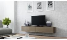TV stolek VIGO RTV 180 latte mat/latte lesk
