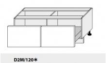 Dolní skříňka PLATINIUM D2M/120 grey