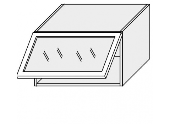 Horní skříňka kuchyně Quantum W4BS 60 MDF jersey