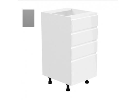 Dolní skříňka ASPEN D40S4 šedá