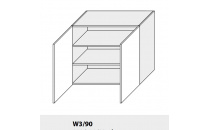Horní skříňka PLATINIUM W3/90 grey