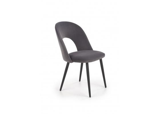 Jídelní židle K384 šedá /černá