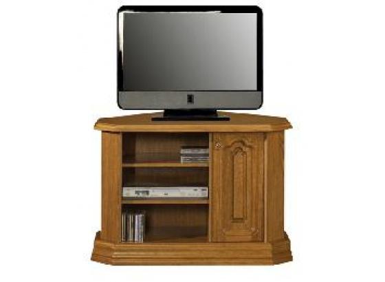 TV stolek KINGA D rohový masiv