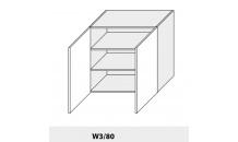 Horní skříňka PLATINIUM W3/80 bílá