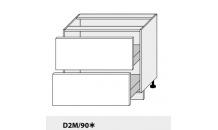Dolní skříňka PLATINIUM D3M/90 bílá