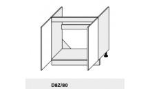 Dolní skříňka PLATINIUM D8Z/80 dub artisan