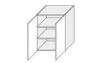Horní skříňka EMPORIUM W3 60 bílá
