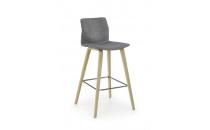 Barová židle H80 šedá