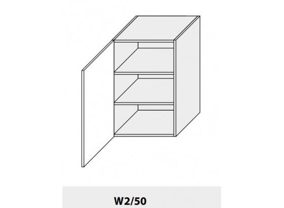 Horní skříňka kuchyně Quantum W2 50/grey
