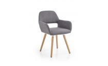 Jídelní židle K283 šedá