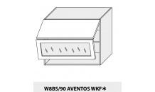 Horní skříňka kuchyně QUANTUM W8BS 90 AV WKF/grey