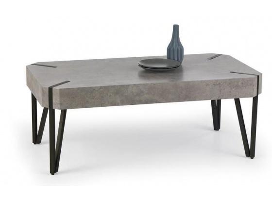 Konferenční stolek EMILY beton/černá